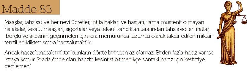 Maaş Haczi Madde 83